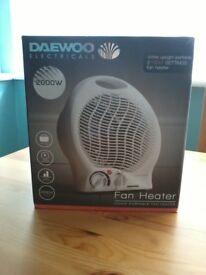 DAEWOO Electric Fan Heater