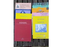 Selection of 8 Flute Music Books