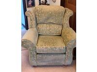 Sofa & 2 armchairs (Ercol)