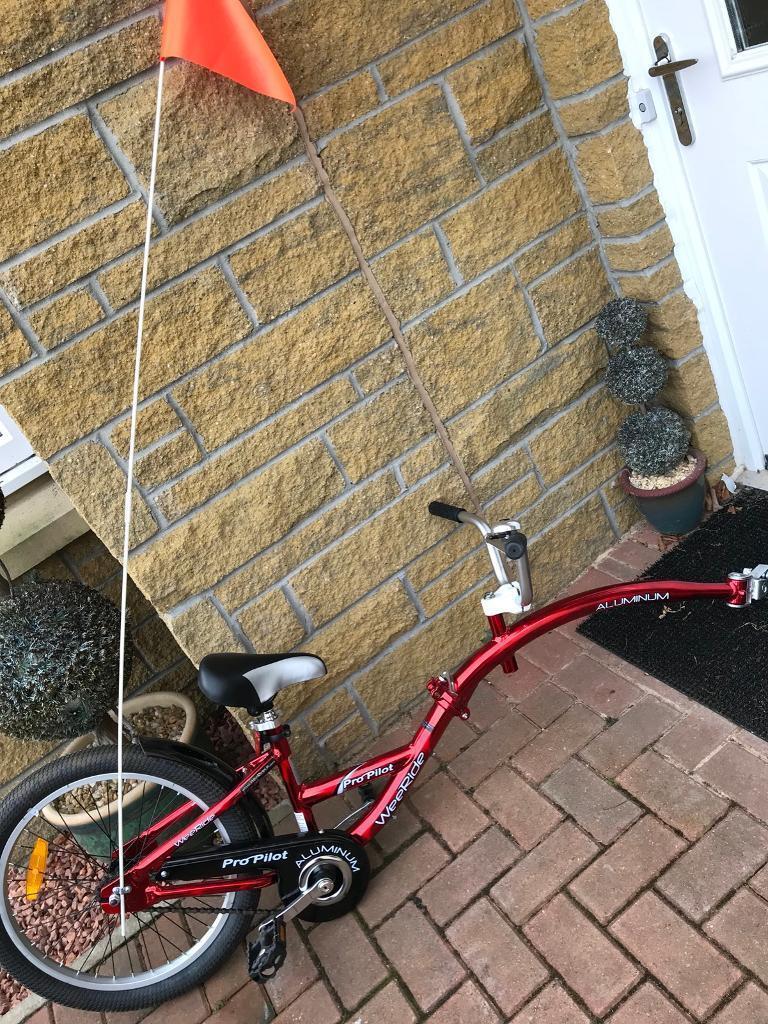 WeeRide Pro Pilot aluminium tag-along bike