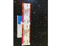 Selling two kings of leon tickets for Newcastle metro arena on the 24/2/17. Seat 56 and 57 low tier