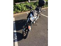 Lexmoto zsx 125 motorbike/motorcycle