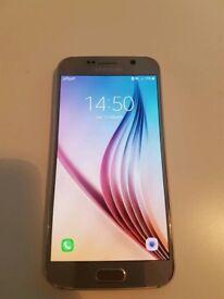 Unlocked Samsung S6 gold boxed