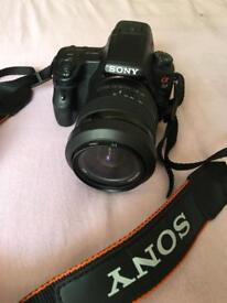 Sony SLT a37 Camera + Sony DT 18-55mm lens