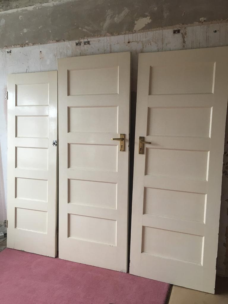 BARGAIN Solid Timber doors x7 🚪