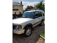 Land rover discovery 2 diesel auto 7 seats long mot low miles car runa spot on no issues