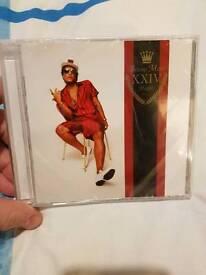 BRAND NEW IN CELLOPHANE BRUNO MARS 24K MAGIC ALBUM