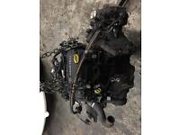 1 L Corsa C Engine and gearbox