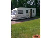 LUNAR LX200-525 YEAR1999 Caravan with full awning and lots of extras!!