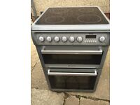 £120.00 Cannon grey ceramic electric cooker+60cm+3 months warranty for £120.00