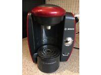 Tassimo machine black & red