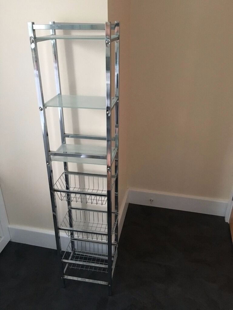 Bathroom Shelves John Lewis Free Standing Glass And Chrome In Cambridge Cambridgeshire