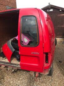 Vw caddy mk2 rear doors