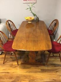 For quick sale retro style dinning table with chairs