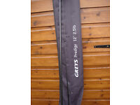 Greys Prodigy 12ft Carp rod 2.5 test curve Brand new