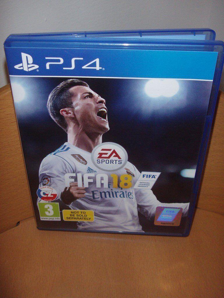 PS4 FIFA 18 GAME | in Newport | Gumtree