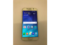 SAMSUNG S6 32GB GRADE A UNLOCKED WITH RECEIPT AND WARRANTY