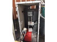 50/70 oil fired boiler