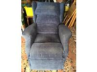 Electric lift and recline chair