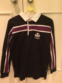 Scottish Rugby Nations Long-sleeved Girls Top