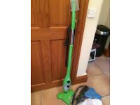 H20 Steam Mop - boxed with booklet and all unused attachments.