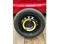 195/60 R16 spare wheel and Continental tyre