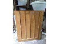 Beautiful handmade solid oak stable door