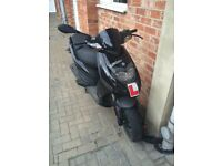 Piaggio typhoon 125cc moped