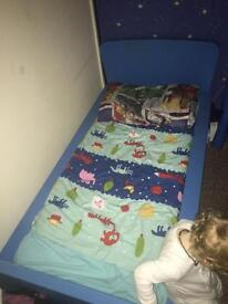 Children's Ikea bed & match bedside table £50 ono
