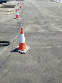 Traffic Cones 750mm high