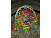 BUNDLE OF BABY TOYS AND PLAY MAT