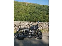 Triumph Bonneville T100 Black Stunning Modern classic- Immaculate condition, extremely low mileage