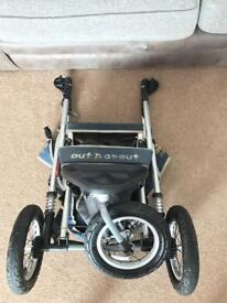 Out N About Nipper 360 push chair/pram/stroller