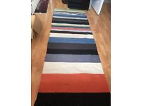 IKEA runner rug great condition