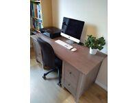 HEMNES Wood Office Desk. Good condition! RRP £250