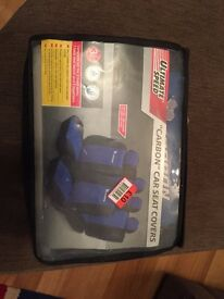 """Ultimate Speed """"Carbon"""" car seat covers"""