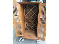 Indonesian wine rack / cupboard