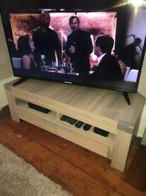 Matching tv stand and side board