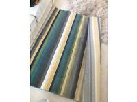 Large striped rug