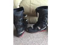 Falco 107 dust ls motorcycle boots / size 45 euro motocross / off road