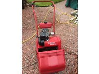 Qualcast Suffolk Punch 14s petrol cylinder lawnmower