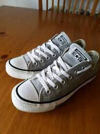 Grey converse uk 4.5