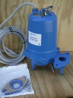 New Goulds Water Ws1532bhf 1-12 Hp 230 Volt Manual Submersible Sewage Pump
