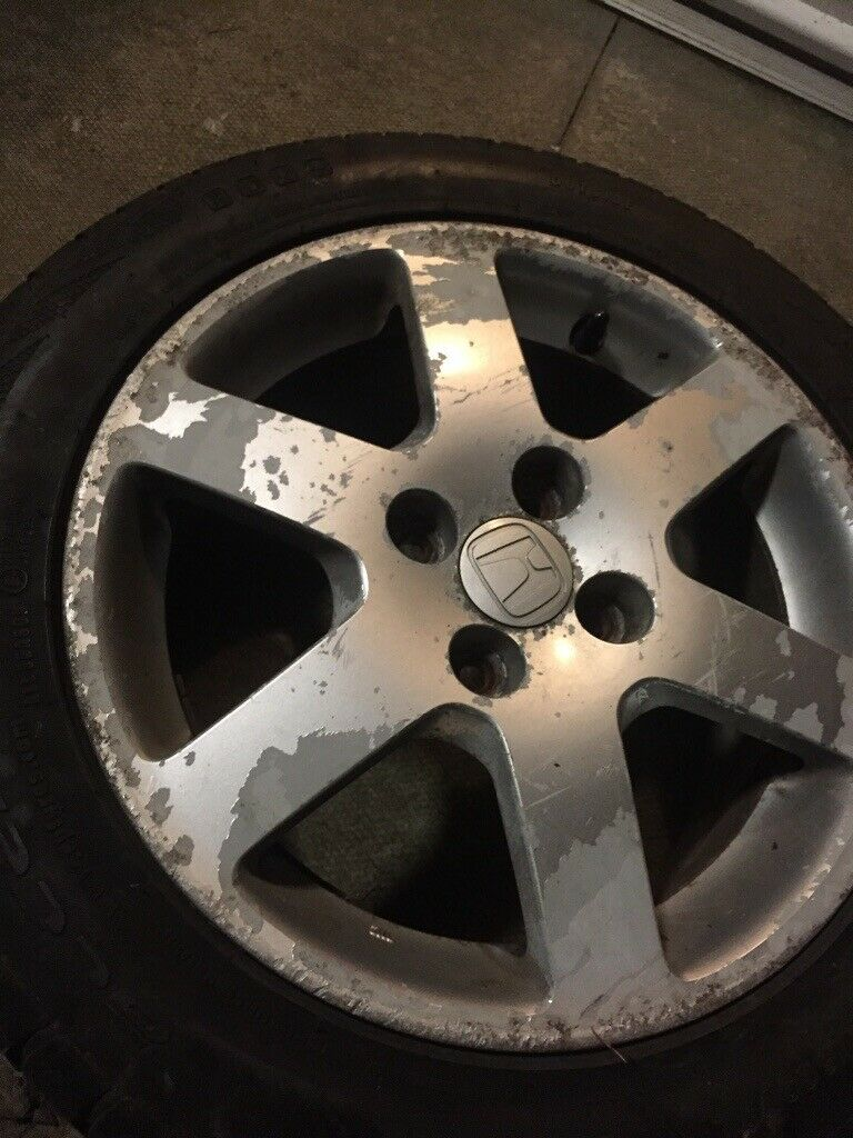 Honda Jazz Alloy Wheel With All Season Tyre In Killin Stirling Gumtree