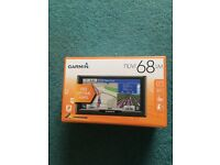 NEW Garmin Nuvi 68LM 6 inch Satellite Navigation with UK, Ireland and Full Europe Free Lifetime Maps