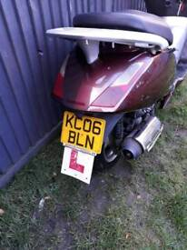 Honda pannthom 125 £350 started and rides