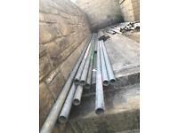 Scaffolding poles