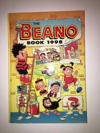 Beano, Dandy and Dennis The Mennis Hardback Comics From 1998