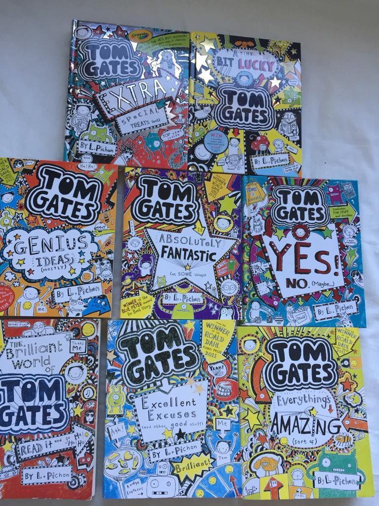 8 Tom Gates books