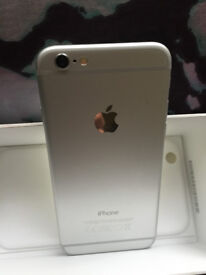 Very Good Condition iPhone 6 Silver 128gb Unlocked to All Networks